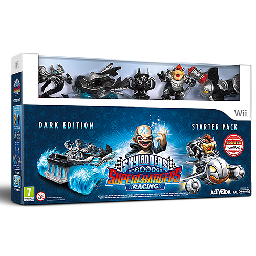 Skylanders Superchargers Dark Edition - Only at GAME Wii