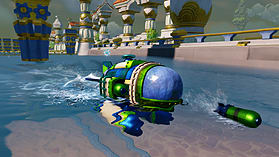 Skylanders SuperChargers Racing Dark Edition screen shot 10