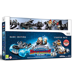 Skylanders SuperChargers Racing Dark Edition Wii Cover Art