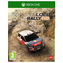 Sébastien Loeb Rally EVO Xbox One Cover Art