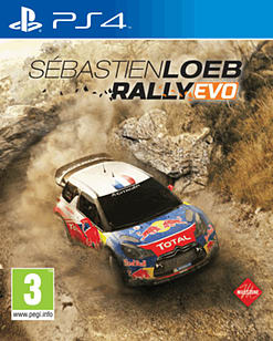 Sébastien Loeb Rally EVO PlayStation 4 Cover Art
