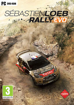Sébastien Loeb Rally EVO PC Games Cover Art