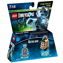 Cyberman & Dalek Fun Pack - LEGO Dimensions - Doctor Who Toys and Gadgets