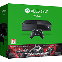 Xbox One 500GB Console With Gears of War Ultimate Edition Xbox One Cover Art