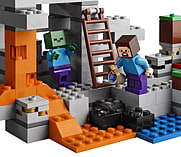 LEGO Minecraft The Cave 21113 Playset screen shot 2