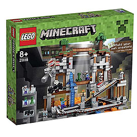 LEGO Minecraft the Mine Building Set - 21118 Blocks and Bricks