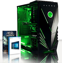 VIBOX Essentials 46 - 3.7GHz AMD Dual Core, Gaming PC (Radeon R5 230, 4GB RAM, 500GB, Windows 8.1) PC