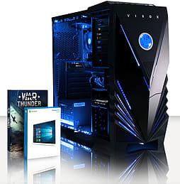 VIBOX Theta 28 - 4.0GHz AMD Quad Core Gaming PC (Nvidia Geforce GT 730, 4GB RAM, 500GB, Windows 8.1) PC