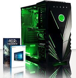 VIBOX Theta 53 - 4.0GHz AMD Quad Core, Gaming PC (Nvidia Geforce GT 730, 8GB RAM, 3TB, Windows 8.1) PC