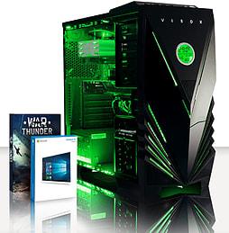VIBOX condor 53 - 4.0GHz AMD Quad Core, Gaming PC (Radeon R7 260X, 8GB RAM, 3TB, Windows 8.1) PC