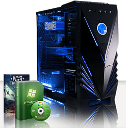 VIBOX Omega 3 - 4.0GHz AMD Quad Core, Gaming PC (Radeon R9 270, 8GB RAM, 2TB, No Windows) PC