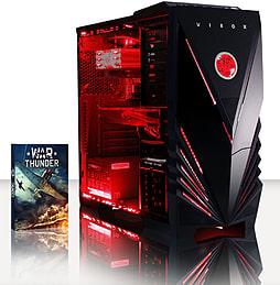 VIBOX Omega 9 - 4.0GHz AMD Quad Core, Gaming PC (Radeon R9 270, 8GB RAM, 2TB, No Windows) PC