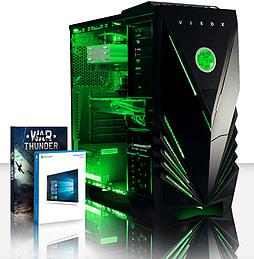 VIBOX Omega 53 - 4.0GHz AMD Quad Core, Gaming PC (Radeon R9 270, 8GB RAM, 3TB, Windows 8.1) PC