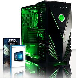 VIBOX Scorpius 32 - 4.0GHz AMD Quad Core Gaming PC (Nvidia GTX 750 Ti, 8GB RAM, 1TB, Windows 10) PC