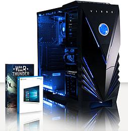 VIBOX Vision 2XLW - 3.7GHz AMD Dual Core, Desktop PC (Radeon HD 8370D, 32GB RAM, 1TB, Windows 8.1) PC