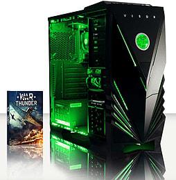 VIBOX Vision 2L - 3.7GHz AMD Dual Core, Desktop PC (Radeon HD 8370D, 16GB RAM, 1TB, No Windows) PC