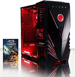 VIBOX Vision 2XL - 3.7GHz AMD Dual Core, Desktop PC (Radeon HD 8370D, 32GB RAM, 1TB, No Windows) PC