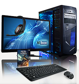 VIBOX Vision 2L - 3.7GHz AMD Dual Core Desktop PC Pack (Radeon HD 8370D, 16GB RAM, 1TB, No Windows) PC