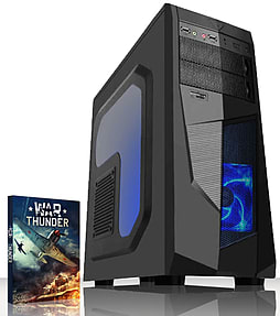 VIBOX Scope 2 - 3.9GHz AMD Dual Core, Gaming PC (Nvidia Geforce GT 730, 8GB RAM, 1TB, No Windows) PC