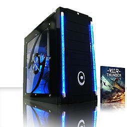 VIBOX Scope 10 - 3.9GHz AMD Dual Core Gaming PC (Nvidia Geforce GT 730, 4GB RAM, 500GB, Windows 8.1) PC