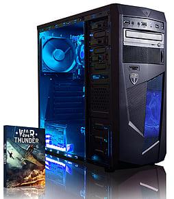 VIBOX Precision 6X - 4.0GHz AMD Quad Core Gaming PC (Nvidia GT 730, 8GB RAM, 2TB, No Windows) PC
