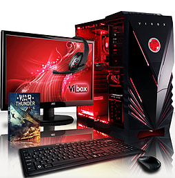 VIBOX Precision 6XS - 4.0GHz AMD Quad Core Gaming PC Pack (Nvidia GT 730, 16GB RAM, 2TB, No Windows) PC