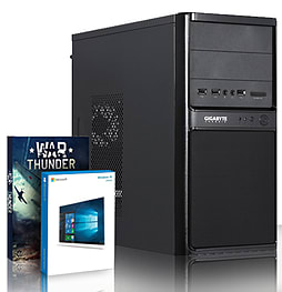VIBOX Beta 12 - 4.2GHz AMD Quad Core, Gaming PC (AMD 760G, 4GB RAM, 500GB, Windows 8.1) PC