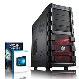 VIBOX Storm 48 - 4.2GHz AMD Quad Core, Gaming PC (Radeon R5 230, 4GB RAM, 1TB, Windows 8.1) PC