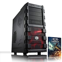 VIBOX Focus 42 - 4.2GHz AMD Quad Core, Gaming PC (Nvidia Geforce GT 730, 8GB RAM, 2TB, No Windows) PC