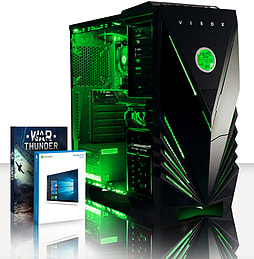 VIBOX Focus 64 - 4.2GHz AMD Quad Core Gaming PC (Nvidia Geforce GT 730, 4GB RAM, 500GB, Windows 8.1) PC