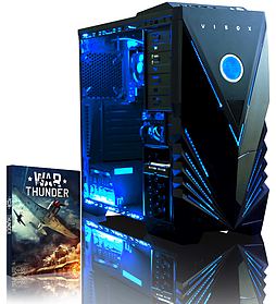 VIBOX Ultra 11A - 3.9GHz AMD Quad Core, Gaming PC (Radeon HD 8570D, 8GB RAM, 1TB, No Windows) PC