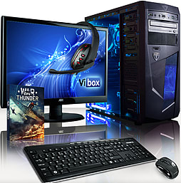 VIBOX Ultra 11XL - 3.9GHz AMD Quad Core Gaming PC Pack (Radeon HD 8570D, 32GB RAM, 2TB, No Windows) PC