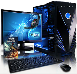 VIBOX Ultra 11S - 3.9GHz AMD Quad Core Gaming PC Pack (Radeon HD 8570D, 16GB RAM, 1TB, No Windows) PC