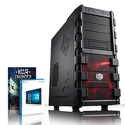 VIBOX Ultra 51 - 4.2GHz AMD Quad Core, Gaming PC (Radeon R7 240, 8GB RAM, 2TB, Windows 8.1) PC