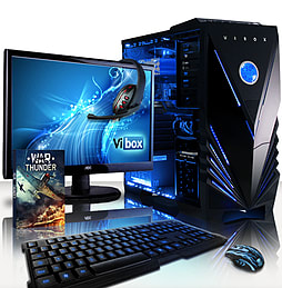VIBOX Gamer 2L - 3.5GHz Intel Quad Core Gaming PC (Nvidia GTX 750 Ti, 32GB RAM, 1TB, No Windows) PC