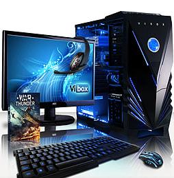 VIBOX Gamer 2XL - 3.5GHz Intel Quad Core Gaming PC (Nvidia GTX 750 Ti, 32GB RAM, 2TB, No Windows) PC