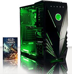 VIBOX Gamer 5 - 4.2GHz AMD Quad Core, Gaming PC (Radeon R7 250, 8GB RAM, 2TB, No Windows) PC
