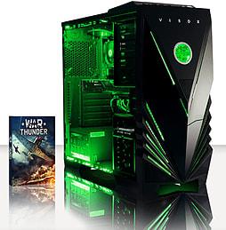 VIBOX Gamer 12 - 4.2GHz AMD Quad Core, Gaming PC (Radeon R7 250, 16GB RAM, 3TB, No Windows) PC