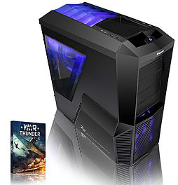 VIBOX Gamer 43 - 4.2GHz AMD Quad Core, Gaming PC (Radeon R7 250, 8GB RAM, 3TB, No Windows) PC