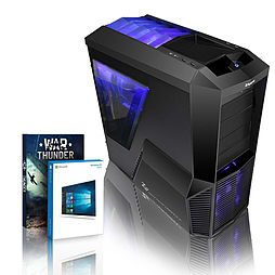 VIBOX Gamer 62 - 4.2GHz AMD Quad Core, Gaming PC (Radeon R7 250, 8GB RAM, 3TB, Windows 8.1) PC