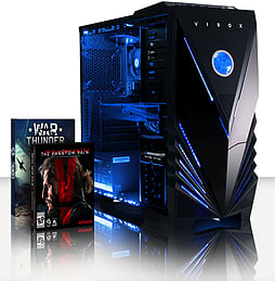 VIBOX Extreme 3 - 4.2GHz AMD Quad Core, Gaming PC (Nvidia Geforce GTX 960, 8GB RAM, 2TB, No Windows) PC