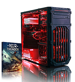 VIBOX Warrior 4W - 4.1GHz AMD Six Core, Gaming PC (Radeon R9 270, 8GB RAM, 1TB, Windows 8.1) PC