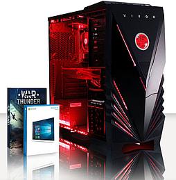 VIBOX Warrior 4LW - 4.1GHz AMD Six Core, Gaming PC (Radeon R9 270, 32GB RAM, 1TB, Windows 8.1) PC