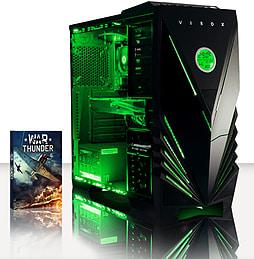 VIBOX Warrior 4X - 4.1GHz AMD Six Core, Gaming PC (Radeon R9 270, 8GB RAM, 2TB, No Windows) PC