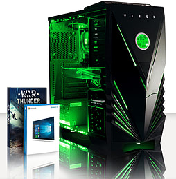VIBOX Warrior 4XSW - 4.1GHz AMD Six Core, Gaming PC (Radeon R9 270, 16GB RAM, 2TB, Windows 8.1) PC