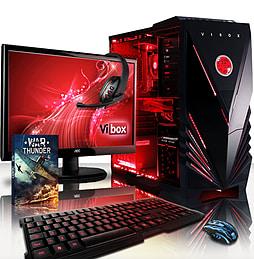 VIBOX Warrior 4W - 4.1GHz AMD Six Core, Gaming PC Package (Radeon R9 270, 8GB RAM, 1TB, Windows 8.1) PC