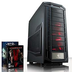 VIBOX Sniper 4 - 4.2GHz AMD Quad Core, Gaming PC (Nvidia Geforce GTX 970, 16GB RAM, 2TB, No Windows) PC