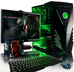 VIBOX Sniper 10L - 4.0GHz Intel Quad Core Gaming PC Pack (Nvidia GTX 970, 32GB RAM, 1TB, No Windows) PC