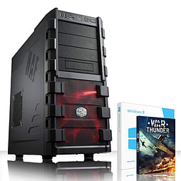 VIBOX Apache 96 - 3.5GHz AMD Six Core, Gaming PC (Radeon R7 250, 32GB RAM, 3TB, Windows 8.1) PC