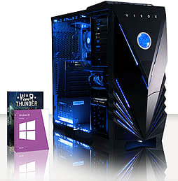 VIBOX Hammer 18 - 3.5GHz AMD Six Core, Gaming PC (Radeon R7 260X, 16GB RAM, 1TB, Windows 8.1) PC